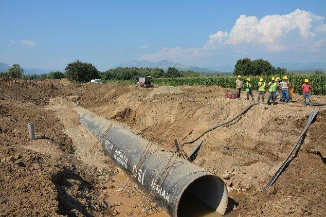 DSİ Bölge Müdürü Coşkun, Karacaören 2 Barajını inceledi