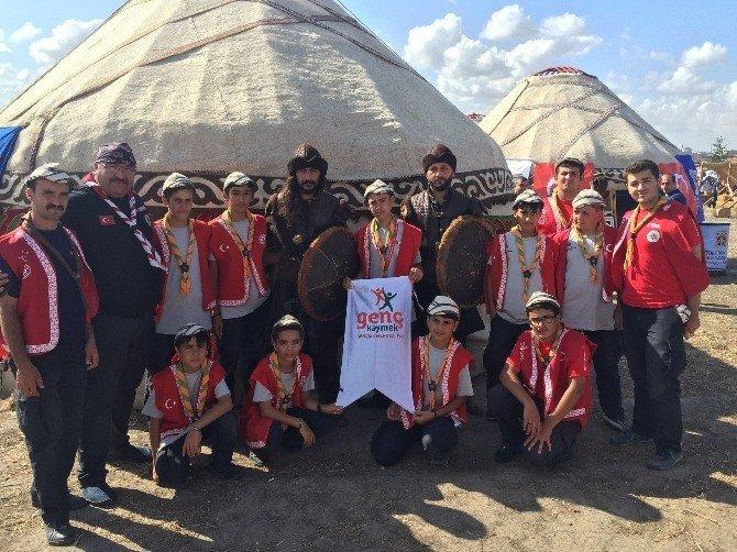 Genç Kaymek Etnospor Festivali'nde