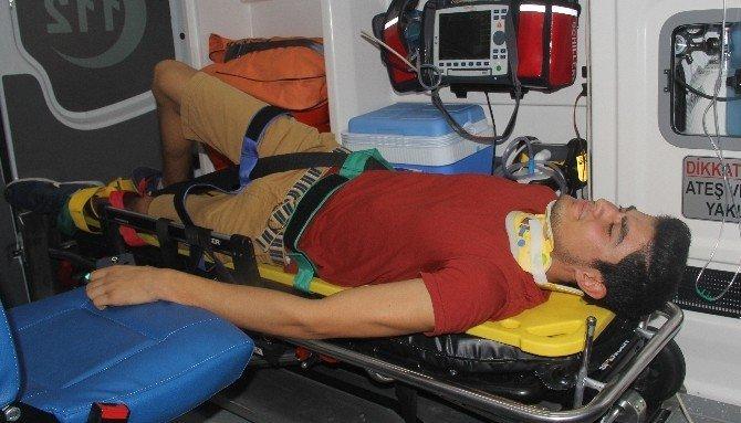 Lunaparkta kaza: 11 yaralı