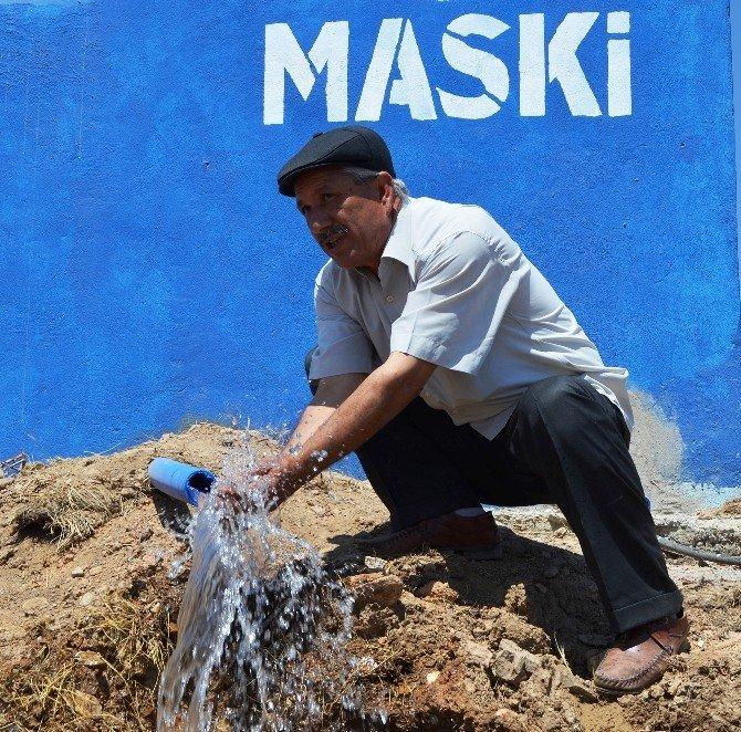 Pütürge Tatlıcak'ın su sorunu çözüldü