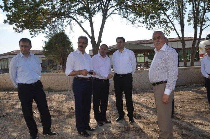 Turhal'a yem fabrikası ve et kombine parçalama tesisi