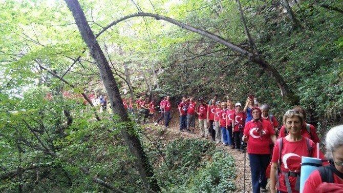 Uludağ'da Zafer yürüyüşü