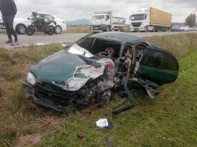 Eskişehir'de trafik kazası: 8 yaralı