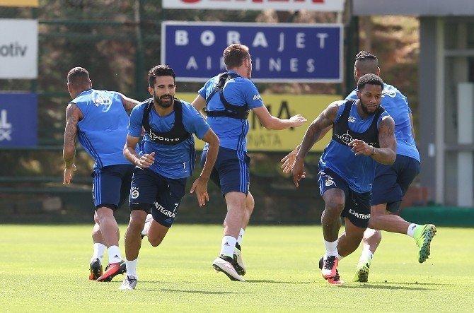 Fenerbahçe, Bursaspor maçının hazırlıklarını sürdürdü