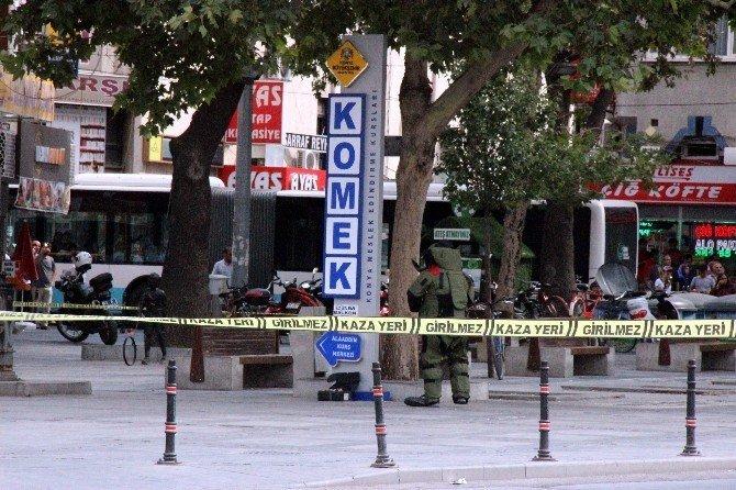 Konya'da bomba süsü verilmiş kutu paniği