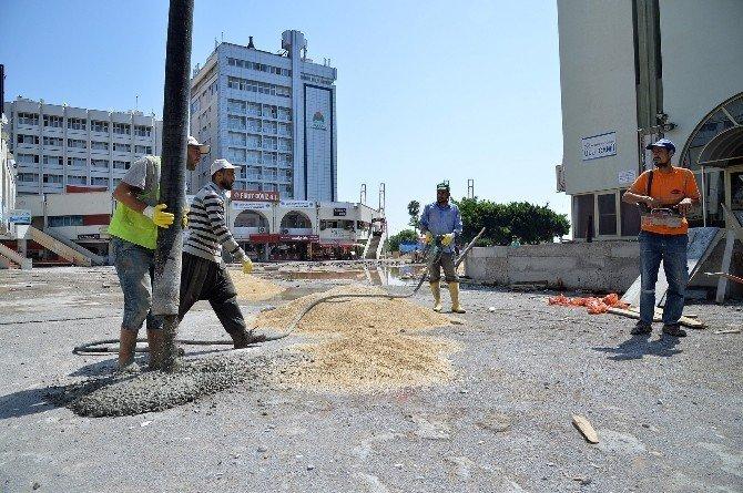 Mersin'de kentsel tasarım çalışmaları tüm hızıyla devam ediyor