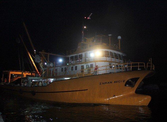 Rize'de deniz av sezonu silah sesleri altında açıldı