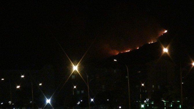 Tatvan'da polis noktasına saldırı sonrası şiddetli çatışma... Teröristler kaçarken ormanı ateşe verdi