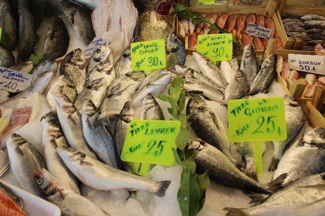 Balık tezgahları şenlendi, vatandaşın yüzü güldü