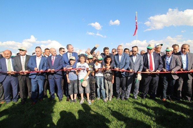 AK Parti Genel Sekreteri Gül,15 Temmuz Vatan Şehitleri Parkı'nın açılışına katıldı