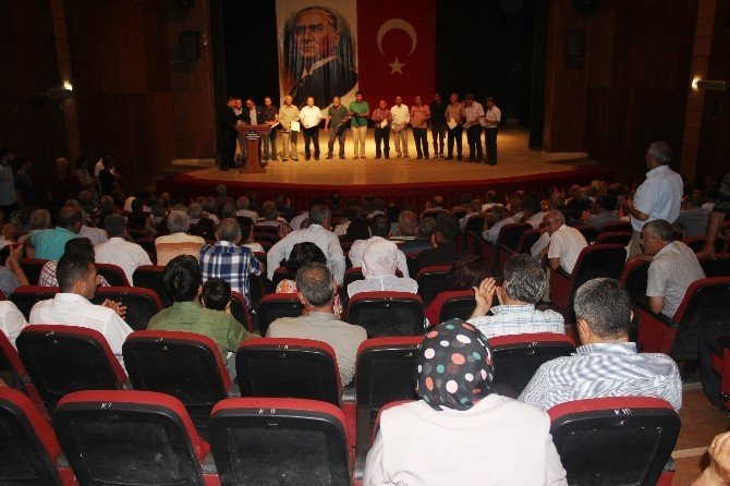 AK Parti'den STK temsilcilerine teşekkür belgesi