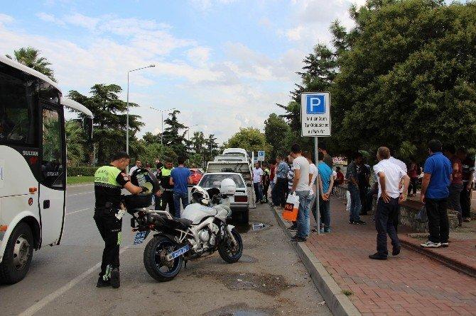 Ceza kesen polis darp edildi