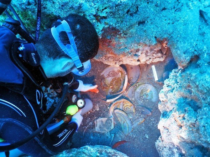 Dünyanın en zengin tabak batığı Akdeniz'de bulundu