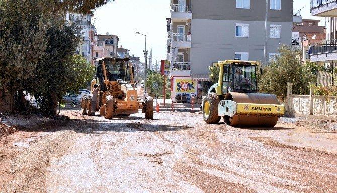 Kepez Belediyesi'nden Emek Mahallesi'ne asfalt