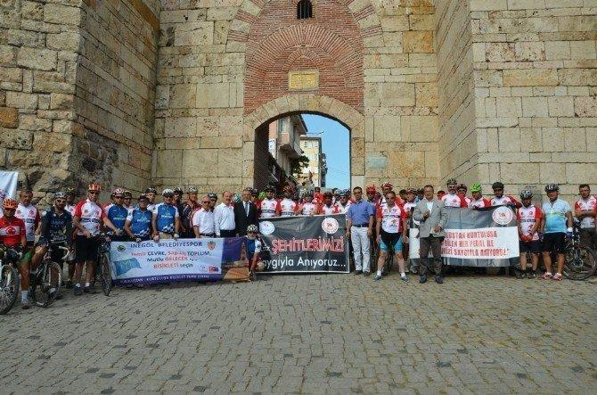 'Kuruluştan Kurtuluşa' bisiklet turunun startı verildi