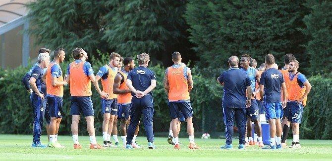 Fenerbahçe, Bursaspor maçı hazırlıklarını sürdürdü