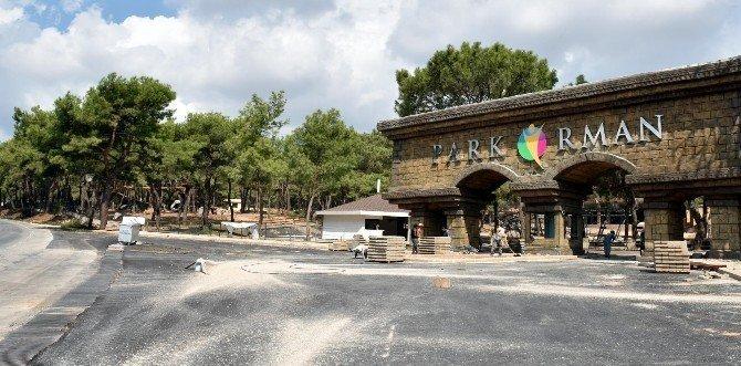 Kepez Park Orman kapılarını açıyor