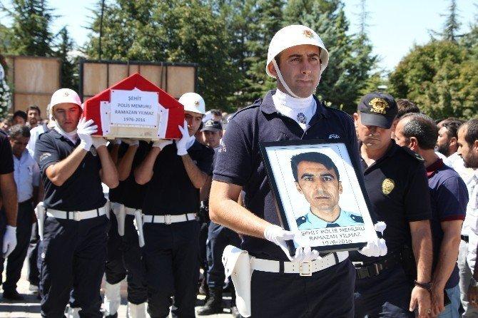 Şehit polis gözyaşlarıyla defnedildi