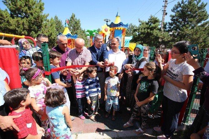 Beyşehir'de 15 Temmuz şehidinin isminin verildiği park açıldı