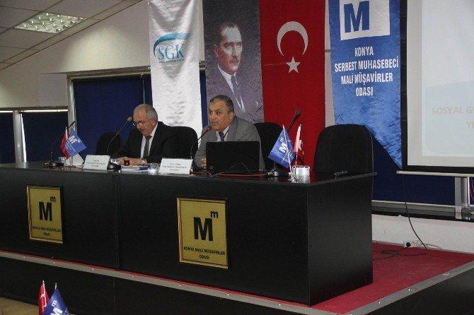 Konya SMMMO'da af kanunu bilgilendirme semineri