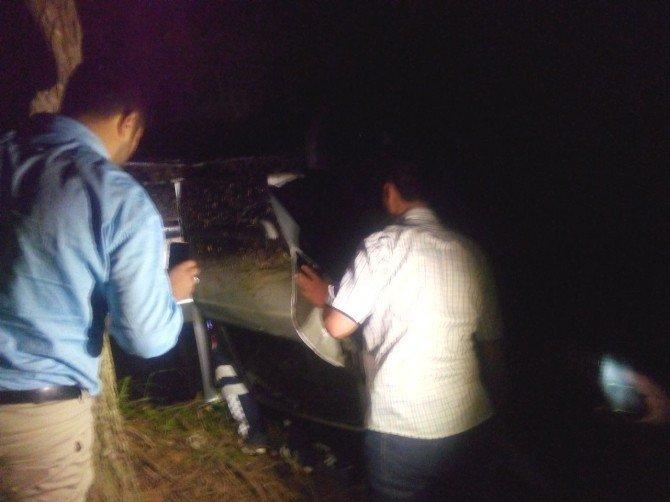 Yoldan çıkan otomobil uçuruma uçtu: 1 Ölü