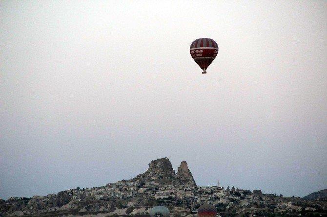 Kapadokya'da turist sayısı yüzde 44 düştü