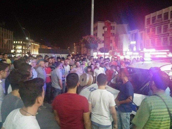 Konya'daki elektrik kesildi, vatandaşlar Valiliğe koştu