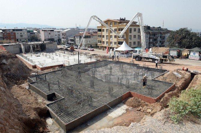 Mescid-i Aksa Camii'nin temeli atıldı