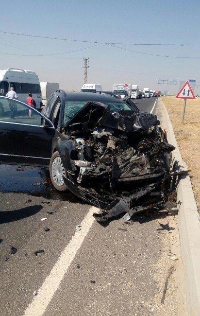 Nusaybin'de trafik kazası: 9 yaralı