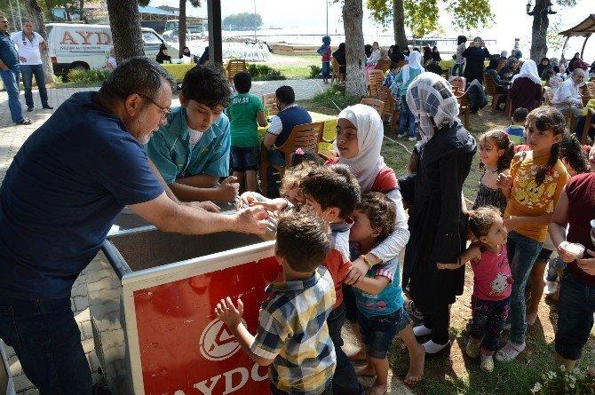 Türkçe öğrenen Suriyeli mülteciler piknikte buluştu