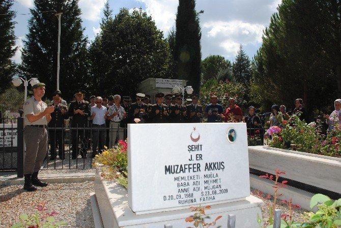 Jandarma'dan şehitliklere ziyaret