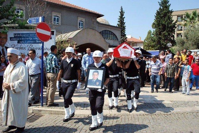 Manisalı şehit polise son görev