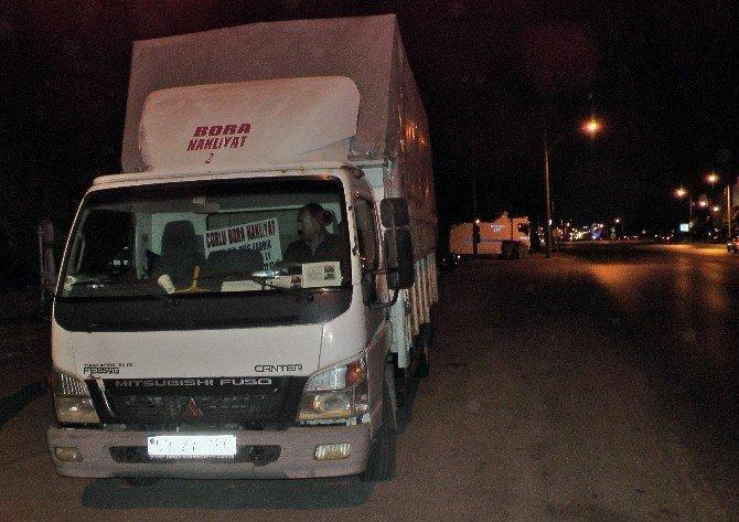 Rojova Derneği'nin yardım kamyonuna Edirne'de el konuldu
