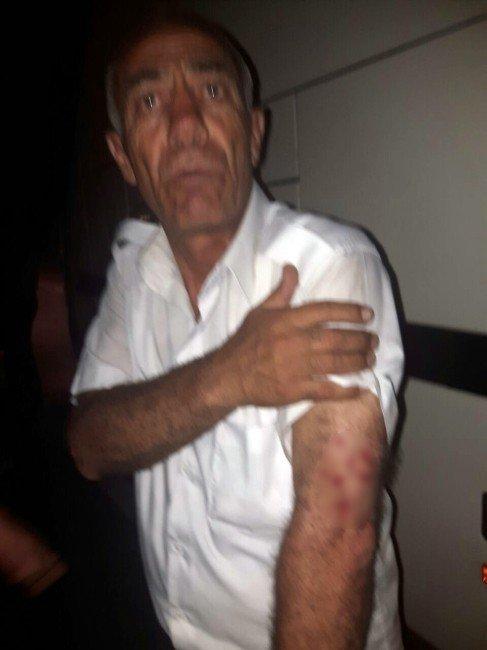 Konyaspor taraftarına taşlı saldırı