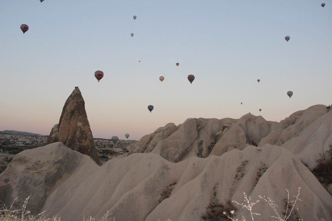 Kurban Bayramında turistlerin tercihi balon turu oldu