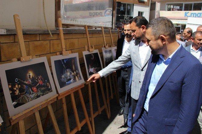 """AK Parti İl Başkanlığı """"15 Temmuz"""" sergisi açtı"""