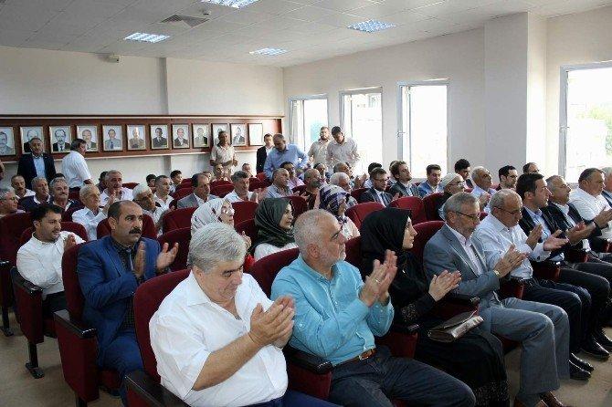 Arifiye'de Kurban bayramı vesilesiyle bayramlaşma töreni gerçekleşti