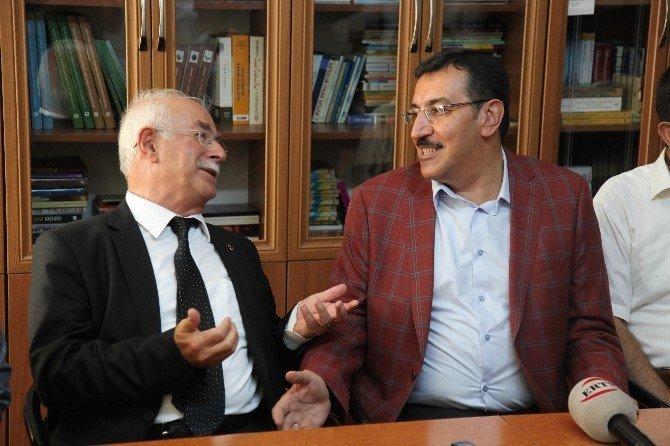 Bakan Tüfenkci, Cem Vakfı'nı ziyaret etti