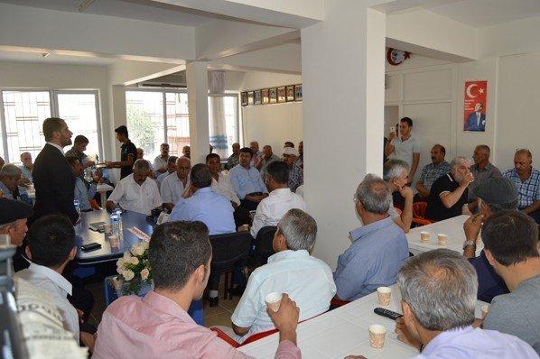 Besni CHP'de bayramlaşma programı