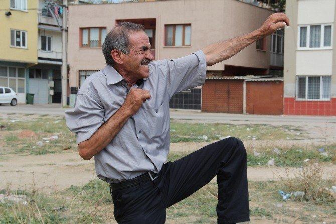 Boğaya karate yapan adam sosyal medyada günün konusu oldu
