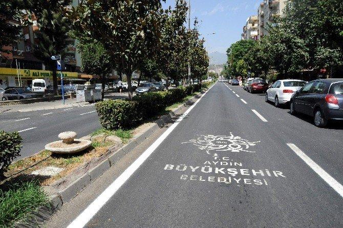 Aydın Büyükşehir Belediyesi'nin yol çalışmaları hız kesmiyor