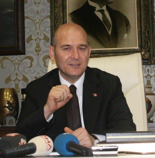 İçişleri Bakanı Süleyman Soylu, memleketi Trabzon'da