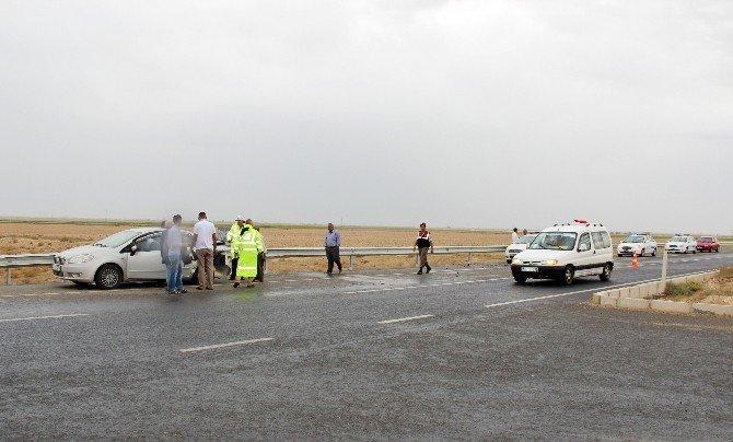 Aksaray'da 7 aracın karıştığı kazada 10 kişi yaralandı
