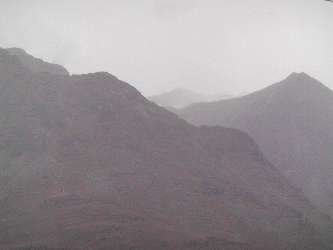 Munzur Dağları'na yılın ilk karı düştü