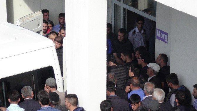 Şehitlerin cenazesi otopsi için Erzurum'a gönderildi