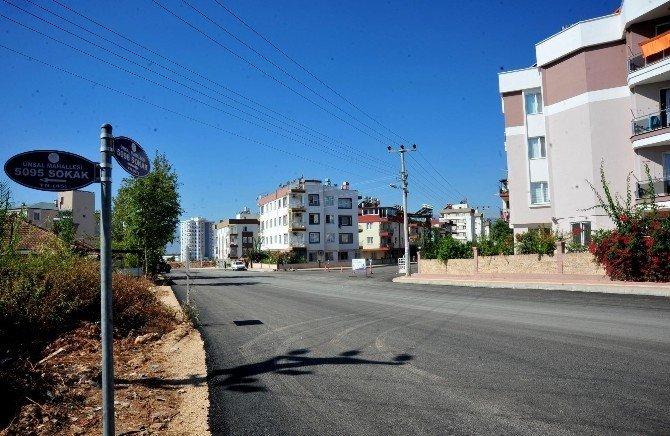 Ünsal'a 50 bin metrekare asfalt