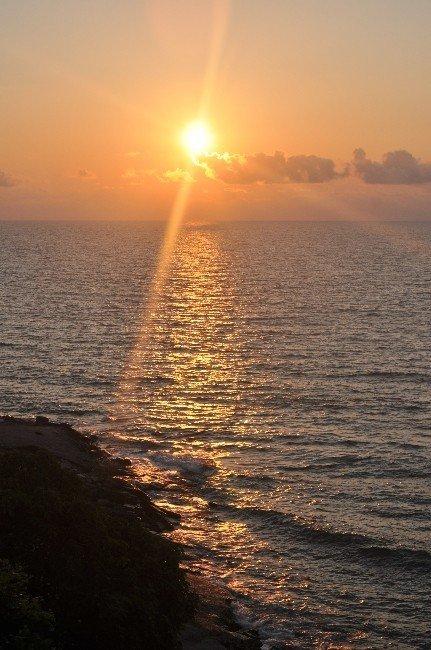 Akçakoca'da gün batımı