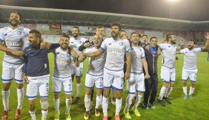 BB Erzurumspor'da Selçukspor galibiyeti sevinci