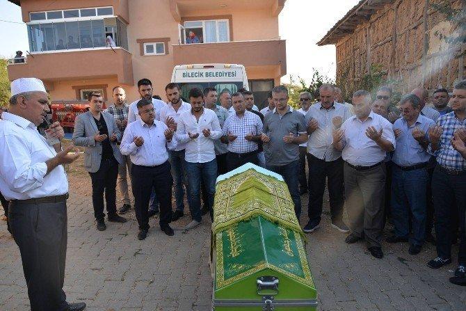 Bilecik Belediye Başkanı Yağcı'nın kayınpederi toprağa verildi