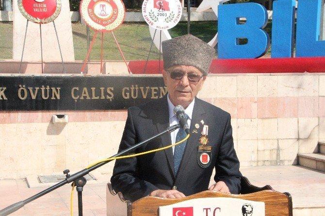 Bilecik'te 19 Eylül Gaziler Günü kutlaması